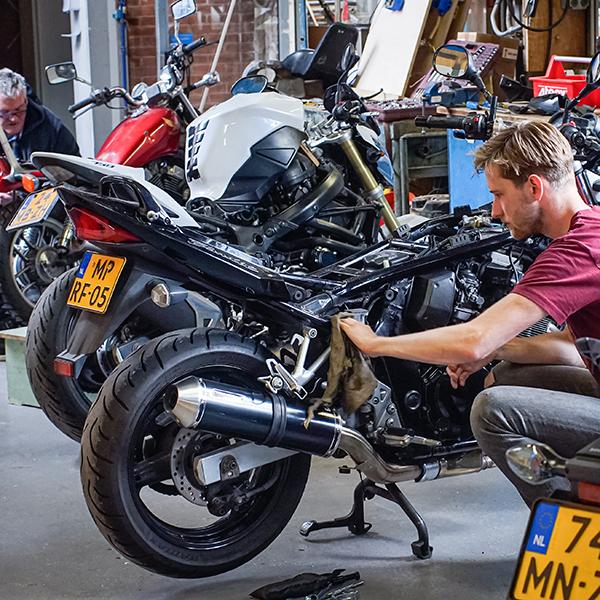 motorfietsonderhoud meerdere motoren